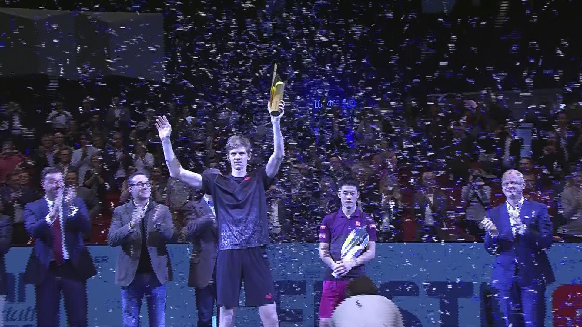 Anderson into ATP Finals; Nishikori, Cilic, Thiem, Isner vie for spots