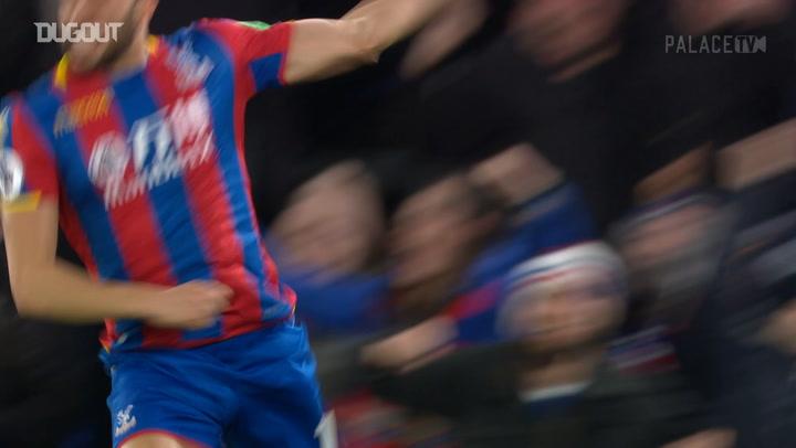 El golazo por la escuadra de Townsend ante el Manchester United