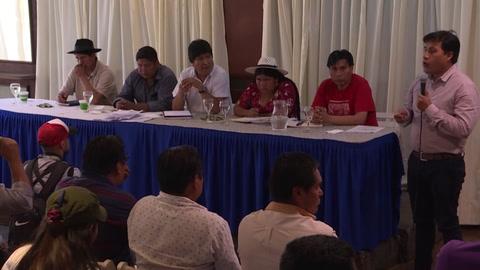Evo Morales anuncia a exministro Luis Arce como candidato a la presidencia de Bolivia
