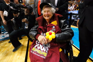Loyola Chicago's Sister Jean Says God Likes the NCAA Better than the NBA