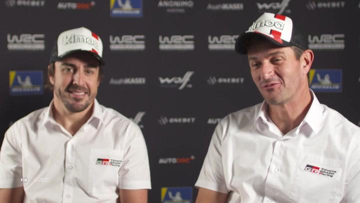 Fernando Alonso y Marc Coma hablan sobre su participación en el Rally Dakar 2020 con Toyota Gazoo
