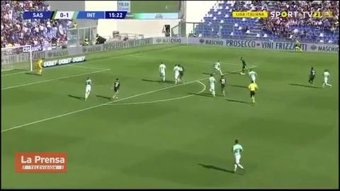 Sassuolo 3-4 Inter De Milán (Serie A)