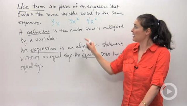 Simplifying Expressions and Combining Like Terms