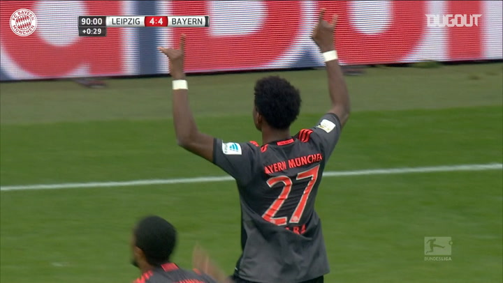 David Alaba's free-kick stuns RB Leipzig
