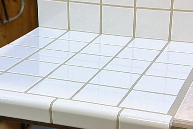 Ceramic Tile On A Laminate Countertop