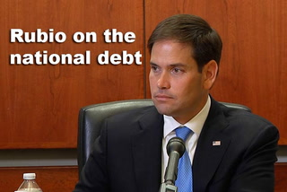 Rubio on the national debt