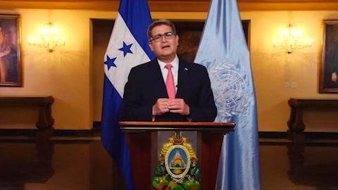 Presidente pide a la ONU atender las consecuencias del coronavirus