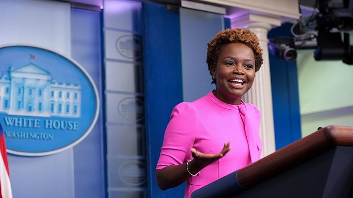 Watch as White House deputy press secretary Karine Jean-Pierre holds briefing