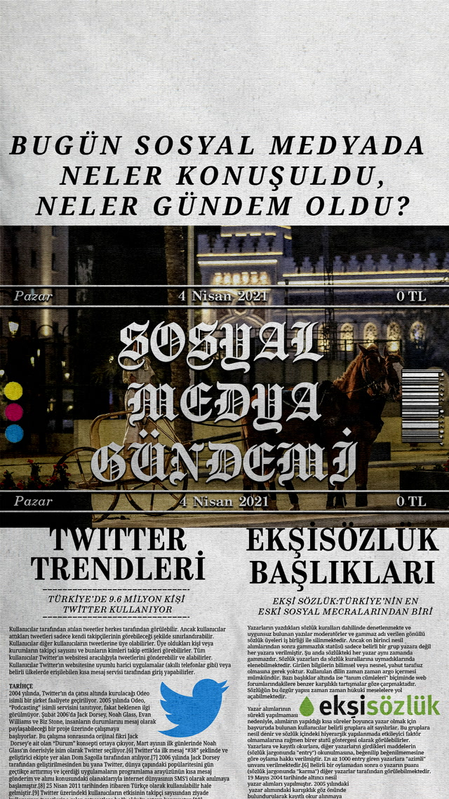 Sosyal medyayı sallayanlar - 4 Nisan