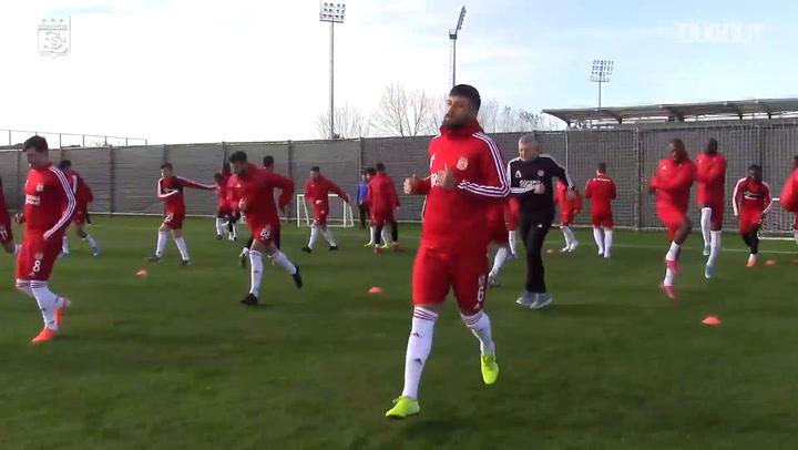 Sivasspor'un İkinci Yarı Hazırlıkları Devam Ediyor