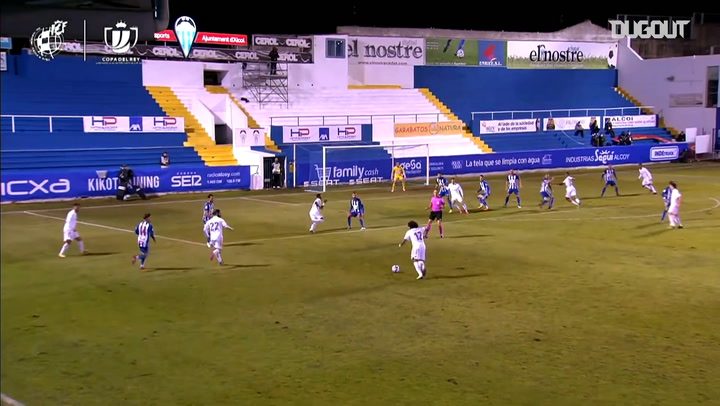 Third-tier side Alcoyano knock out Real Madrid