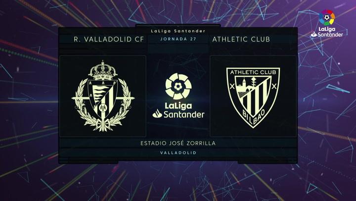 LaLiga (J27): Resumen y goles del Valladolid 1-4 Athletic