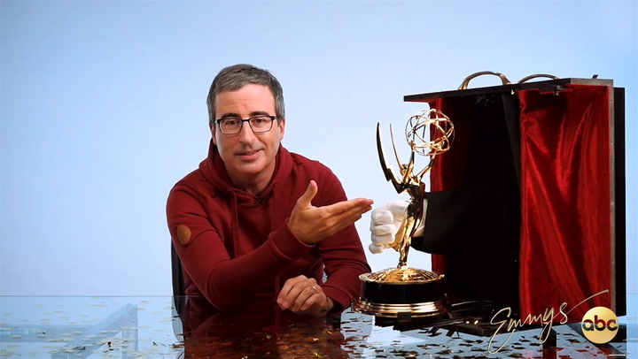 John Oliver Ponders the Point of A Remote Emmys In 2020