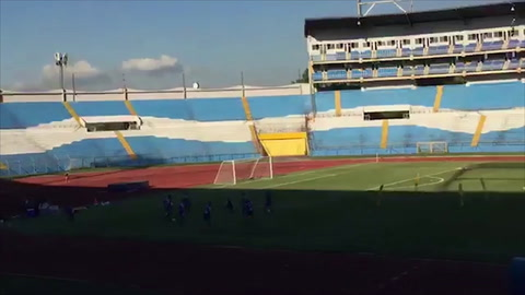 Fabián Coito dirigió su primer entrenamiento con la selección de Honduras