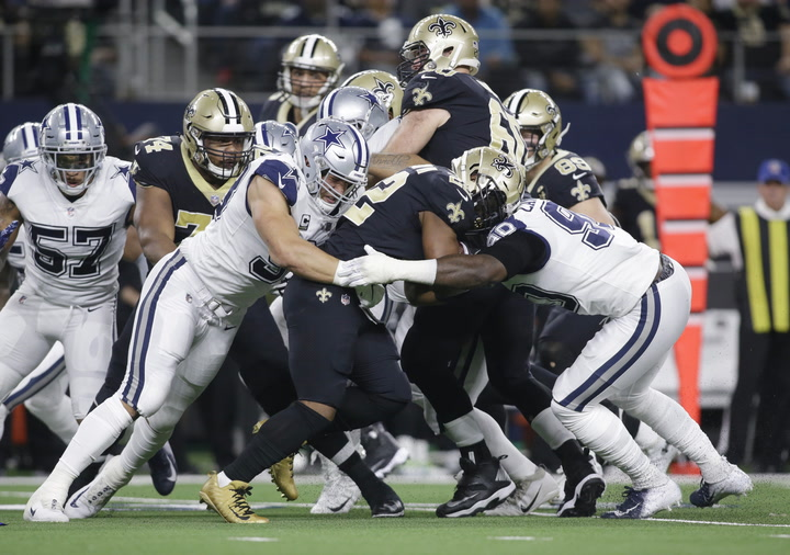 NFL Minute: Saints' ground game can't disappear in future road contests