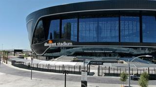 Allegiant Stadium hits substantial completion milestone