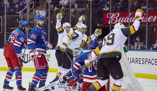 Golden Knights Beat The Rangers 4-3 – Golden Edge