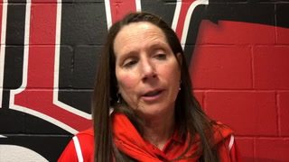 Kathy Olivier talks about the loss to Syracuse