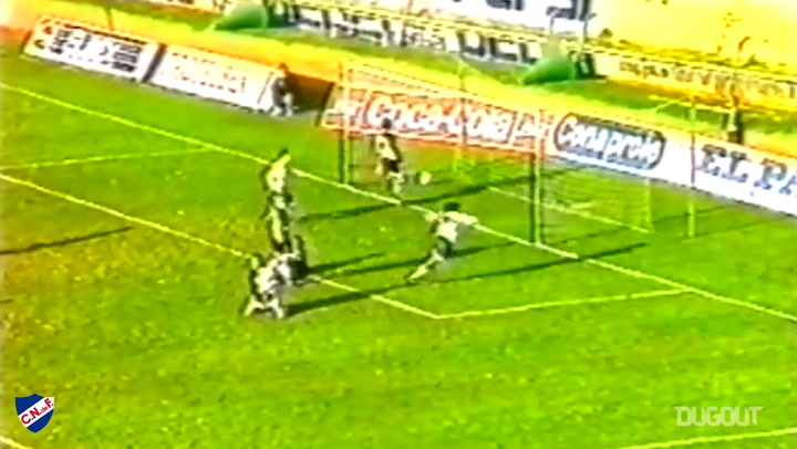 The best of Álvaro Recoba's early days at Nacional