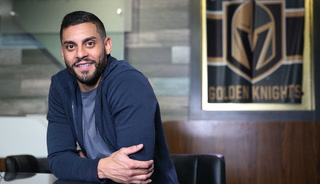 Golden Knight Pierre-Edouard Bellemare Teaches French