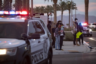 Black Lives Matter Protest in Downtown Summerlin