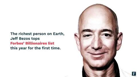 Jeff Bezos, el fundador de Amazon, desplazó a Bill Gates como el más rico del mundo