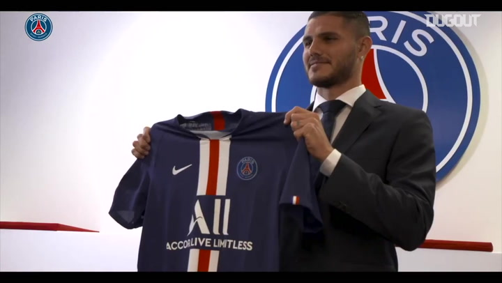 Behind The Scenes: Mauro Icardi's First Day At Paris Saint-Germain