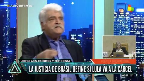 Asís: Argentina no se da cuenta lo que se pierde con Lula preso