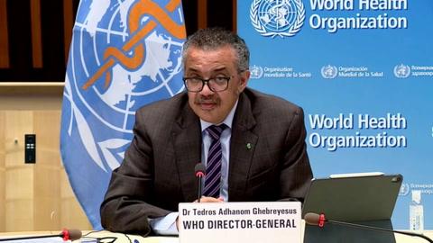 Jefe de la OMS advierte a Brasil que la situación
