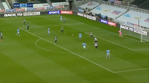 Newcastle 3-4 Manchester City (Premier League)
