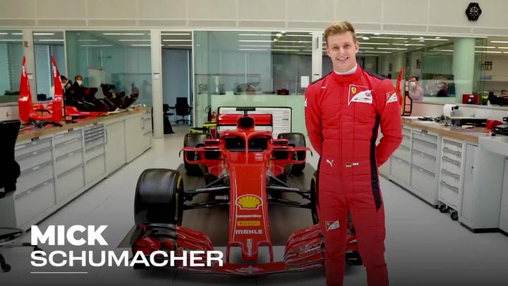 Mick Schumacher, Ilott y Shwartzman, test previo a su debut en F1
