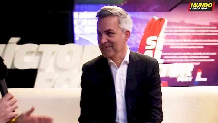 """Víctor Font: """"Hablo más con Xavi que con mi mujer"""""""