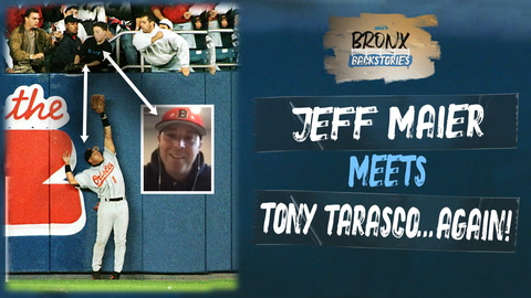 What happened when Jeffrey Maier finally met Tony Tarasco?