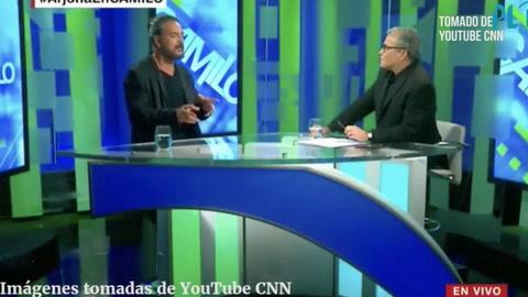 Ricardo Arjona abandona entrevista en vivo en CNN