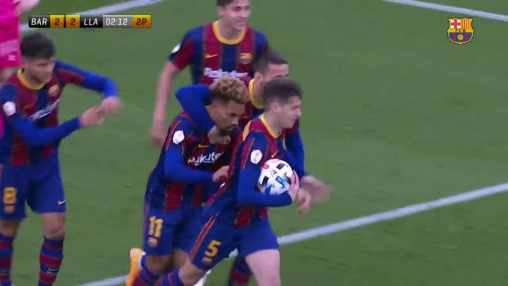 Barça B 4–2 Llagostera