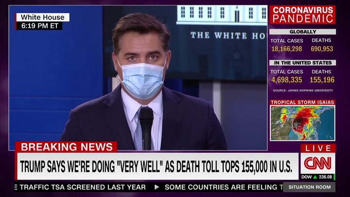 CNN's Acosta: Trump Telling 'One Whopper After Another' About Mail-in Voting