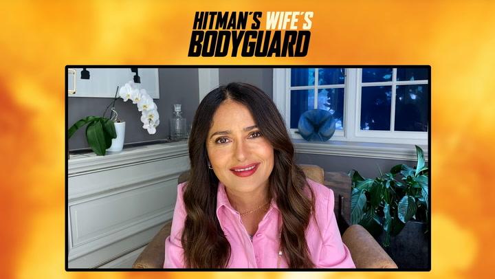 Salma Hayek talks 'Hitman's Wife's Bodyguard'