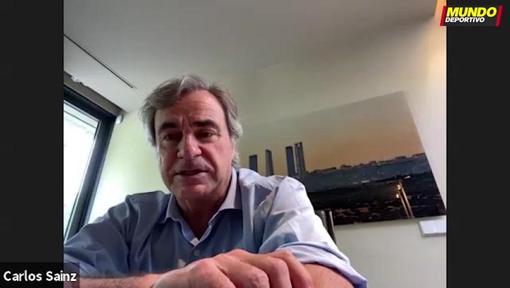 """Carlos Sainz: """"Deseo poder defender título en el Dakar"""""""