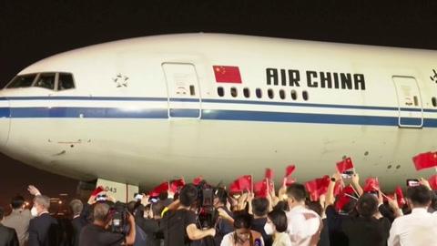 Ejecutiva de Huawei regresa a China tras su liberación en Canadá