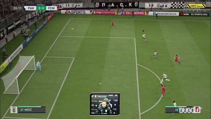 El PAOK se enfrenta al FC Midtjylland en el torneo 'FIFA Quaranteam'