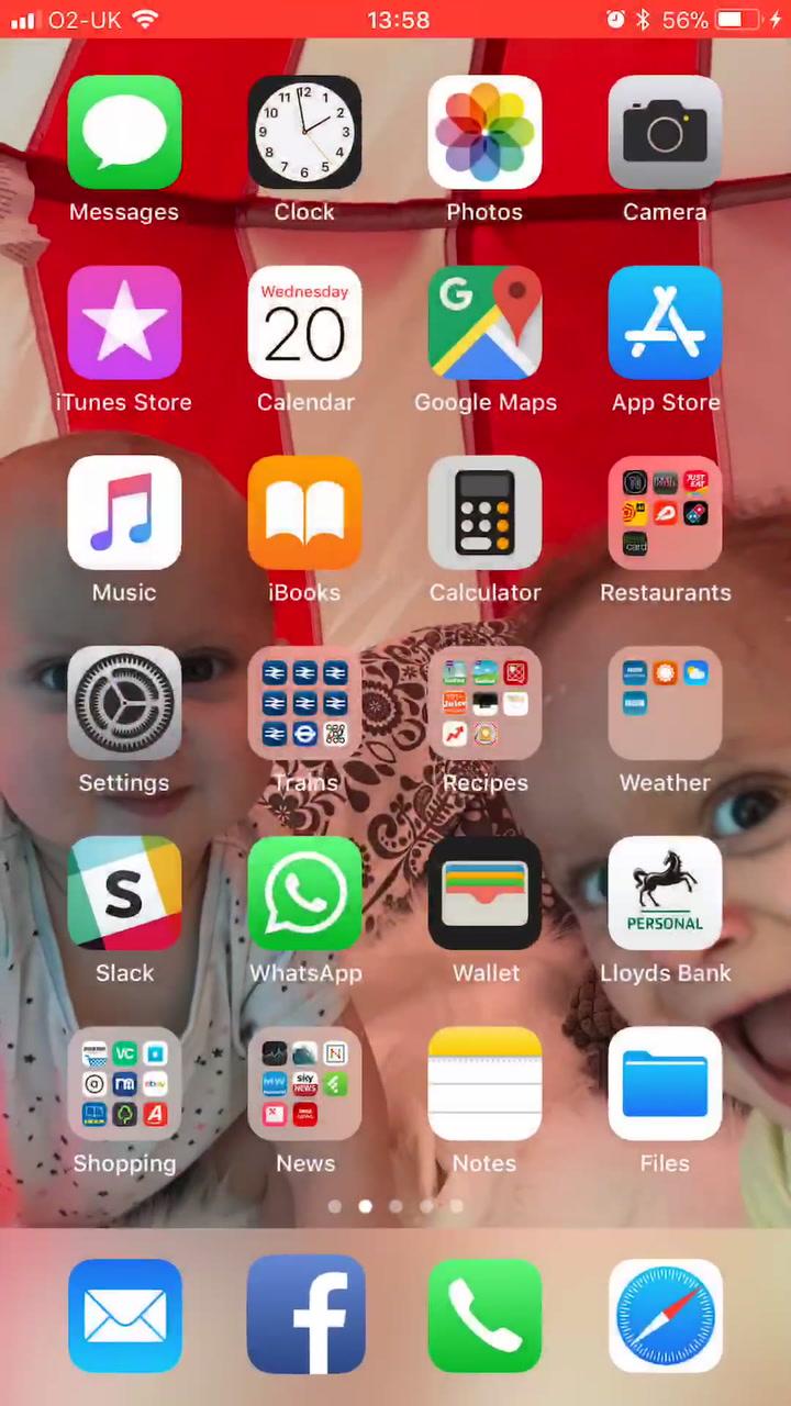 iOS 11 transition