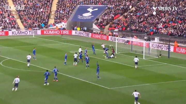 Davinson Sánchez nets first Spurs goal vs Leicester