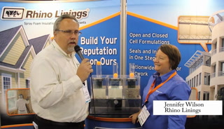 Greenbuild interview - Rhino Linings