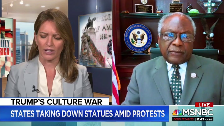 Clyburn: Trump Is Trying to 'Deconstruct' Liberty and Justice for All