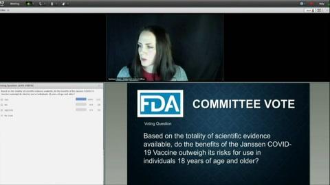 Comité de expertos de EEUU recomienda aprobar vacuna de Johnson & Johnson contra covid-19