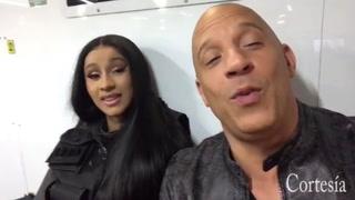 Vin Diesel anuncia participación de Cardi B en