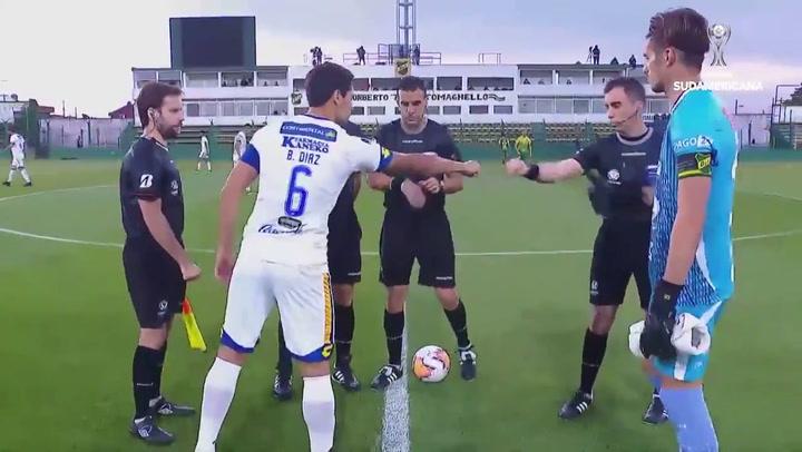 Resumen del Defensa y Justicia - Luqueño (1-1) de la Copa Sudamericana