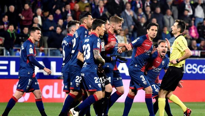 LaLiga: Resumen y Goles del Partido Huesca (2) - (1) Sevilla del 02/03/2019   Vídeo