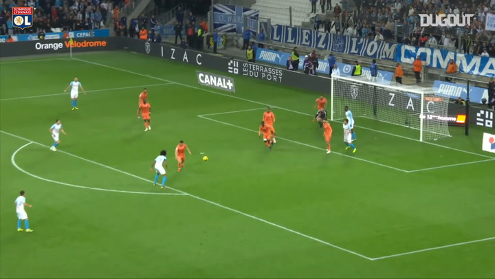 Anthony Lopes impressive double save vs Olympique de Marseille