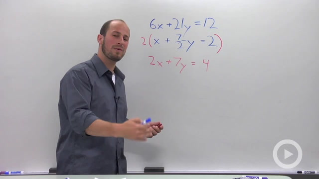 Solving a System of Linear Equations in Two Variables - Problem 3